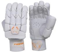 Cricket Batting Gloves - Pro Level - Mens Right - Light Weight - Orange