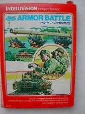 * INTELLIVISION COMPLET ARMOR BATTLE N° 1121 DE 1979