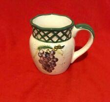CI Raymond Waites Cornucopia Fruit Lattice ~ Large Mug ~ Brand New and Unused!