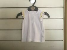 Brand New Baby Girls Size 6-9 Months Sleeveless Top Mothercare Free Postage