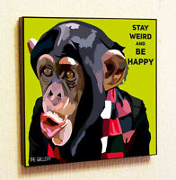 Monkey Painting Decor Print Wall Art Poster Pop Canvas Quotes Decals