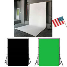 5 x 10 FT Photography Studio Background Support Stand Screen Backdrop Photo US