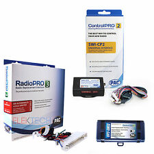 Radio Replacement & Steering Wheel Interface For Buick Pontiac Oldsmobile