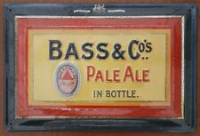 BASS & CO Pale Ale Embossed Metal Pub Sign