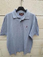 Polo MARLBORO CLASSICS gris manches courtes L coton shirt