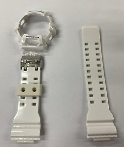 CASIO G-SHOCK Original Band +Bezel  G-8900a-7 White Strap G8900