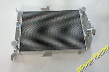 aluminum alloy radiator Ford car/truck hot street rod with chevy V8 SWAP 1935 AT
