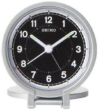 Seiko QHT011ALH Travel Analog Clock NEW, Free Shipping