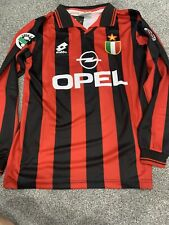 AC Milan #18 BAGGIO 1994/96 Remake Home Shirt Extra Small*