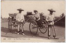 CPA -69-  LYON - Les Pouss-Pouss chinois.