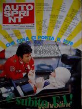 Autosprint 1 1978 Nuova ATS. Ralt RT1. I piloti visti da Enzo Ferrari      SC.51