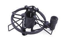 Black Suspension Shock Mount Fit Shotgun Pencil Microphone Rod Spider 5/8 thread