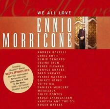 We All Love ENNIO MORRICONE Springsteen METALLICA Roger Waters BOCELLI .. CD