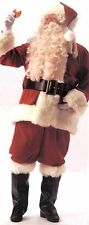 SANTA SUIT DELUXE VELVET ADULT PLUS MENS COSTUME XXL Christmas Red Theme Party