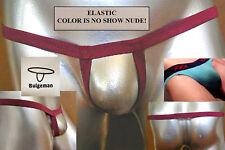 """MENS WHITE Enhancer Sling! 30""""-40"""" Underwear-Swim $1 Shipping!"""
