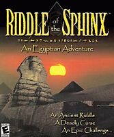 Riddle of the Sphinx: An Egyptian Adventure 3 Disc game