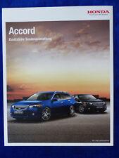 Honda Accord - Sonderausstattung Anhängerkupplung - Prospekt Brochure 09.2009