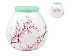 Pot Of Dreams Ceramic Gift Money Box/ Pot BLOSSOM 52054 - Break To Open