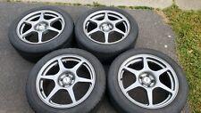 Jdm Kosei Wheels 17 50 5x100 Wheels 17x8 Rims With Center Caps 225 50 17