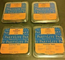 Lot of 4 Partylite Scents Plus Melts~Cinnamon Woods & Spiced Pumpkin~New