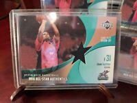 2002-03 Upper Deck All-Star Authentics Warm-Up #SB-AW Shane Battier Grizzlies