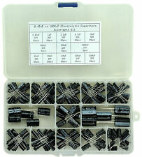 0.47uF to 1000uF Electrolytic Capacitors Assortment Kit.