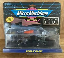 STAR WARS Micro Machines Space Return Of The Jedi Set #3 AT-ST B-Wing 1993