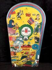 RARE Vintage MARX 1966 BATMAN & ROBIN Pinball Machine Game DC COMICS Bagatelle