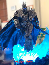 Arthas Menethil Statue Lighting Figurine Lich King Resin Model presale