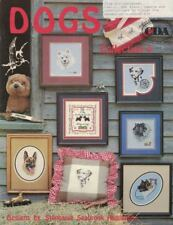 DOGS Collection 4 Pegasus Book for Counted Cross Stitch 1984 Stephanie Hedgepath