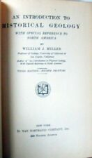 INTRODUCTION TO HISTORY GEOLOGY - W. J. MILLER
