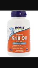 NOW Foods Neptune Krill Oil 500 mg / 120 softgels Best Price/Free Ship