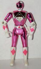 """1995 Vintage Bandai Power Rangers 5.5"""" Metallic Pink Ranger-No Gun C9 Choice"""