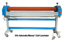 Automatic/Manual 51In Cold Laminating Machine US Door to Door Shipping Service