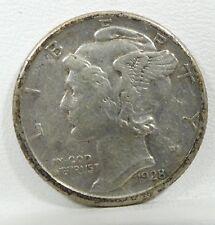 1928-S Mercury Dime EXTRA FINE Silver 10c