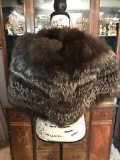 Vintage Silver Fox Fur Stole