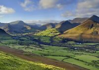 A1 | Causey Pike Countryside Poster Print 60 x 90cm 180gsm Wall Art Decor #16125