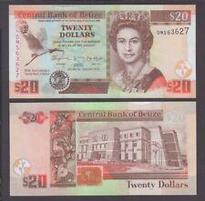Belize banknote P. 72 20 Dollars 1.1.2012 Commemorative QE II,  UNC We Combine
