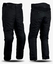 Pantaloni da moto in cordura con protezioni ginocchia e fianchi per uomo e donna