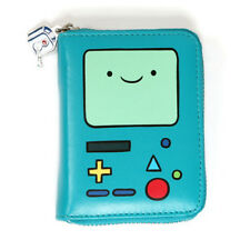 Cute Adventure Time BMO Beemo Small Credit Business Name Card Wallet Small Purse