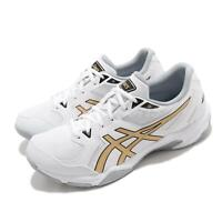 Asics Gel-Rocket 10 White Gold Grey Men Volleyball Sneakers Shoes 1071A054-103