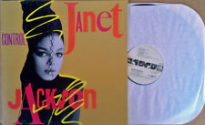 "JANET JACKSON - CONTROL -12"" EP - (3) MIXES - VIDEO MIX, DUB, A CAPPELLA - WLP"