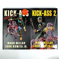 Graphic Novel Comics: Kick Ass 1 & 2 Collection Comics:  Hardcover Book
