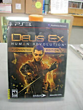 Deus Ex: Human Revolution Augmented Edition (PlayStation 3, 2011) PS3 New Sealed