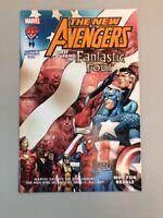 New Avengers Fantastic Four Military Tribute Marvel Comics 2005