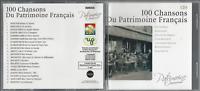 5 CD 100 CHANSONS DU PATRIMOINE FRANÇAIS     CO157