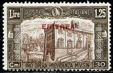 Colonie Italiane Eritrea 1930 Milizia III n. 172 ** (m1923)
