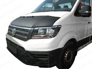 BONNET BRA for VW Volkswagen Crafter - MAN TGE since 2017 STONEGUARD  PROTECTOR