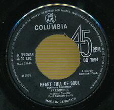 THE YARDBIRDS 45 TOURS UK HEART FULL OF SOUL
