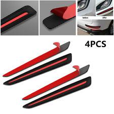 Car Auto Front & Rear Bumper Carbon fiber Look Crash Strip Decorative Protectors